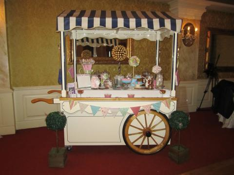 victorian candy cart sweet cart heavenly temptations